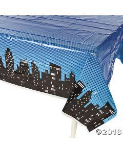 Superhero Plastic Tablecloth