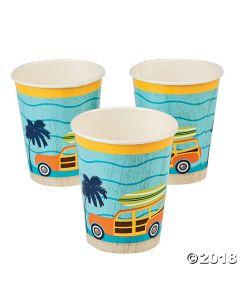 Surfs up Paper Cups