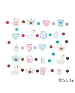 Sweet Swan Baby Shower Confetti