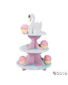 Sweet Swan Cupcake Stand