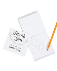 Thank You Favor Notepads