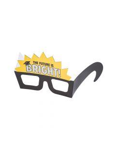 The Future is Bright Graduation Paper Glasses