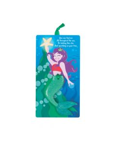 The Legend of the Mermaid Ornaments with Card
