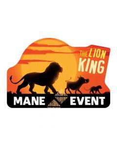 The Lion King Postcard Invitations