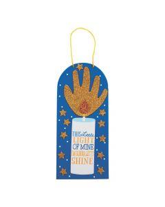 This Little Light of Mine Handprint Sign Craft Kit