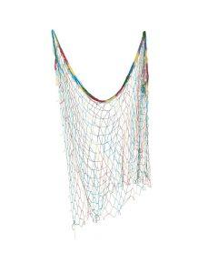 Tie-Dye Fish Net Wall Decoration