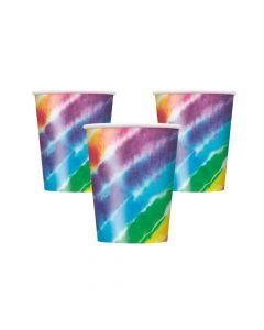 Tie-Dye Paper Cups