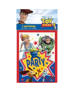 Toy Story 4 Invitation