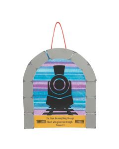 Train with Tunnel Sign Craft Kit