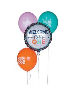 Tribal Baby Shower Balloon Assortment
