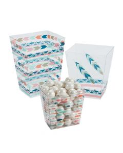 Tribal Baby Shower Candy Containers