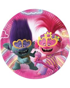 Trolls 2 Paper Plates