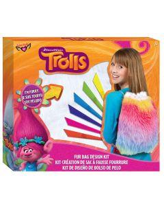 Trolls Fur Drawstring Bag Design Set