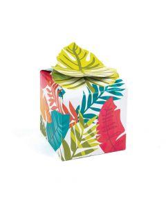 Tropical Leaf Treat Boxes