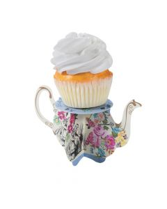 Truly Alice Teapot Cupcake Stands