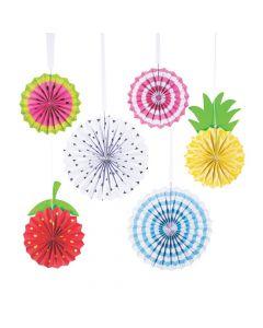Tutti Frutti Hanging Fans