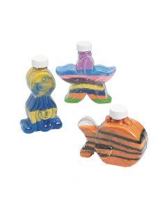 Under the Sea Sand Art Bottles