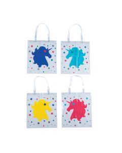 Unicorn Clear Tote Bags