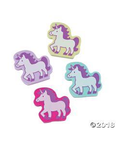 Unicorn Erasers