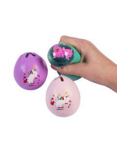 Unicorn-In-Egg Squeeze Balls