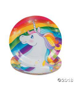 Unicorn Paper Dessert Plate