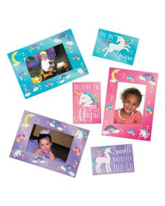 Unicorn Picture Frame Magnets