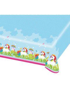 Unicorn Plastic Tablecloth