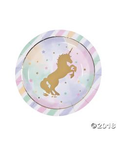 Unicorn Sparkle Dinner Plate