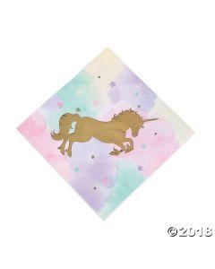 Unicorn Sparkle Lunch Napkin