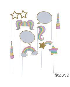 Unicorn Sparkle Photo Stick Props