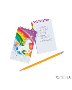 Unicorn Spiral Notepads