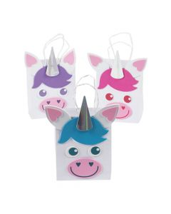 Unicorn Treat Bags Craft Kit