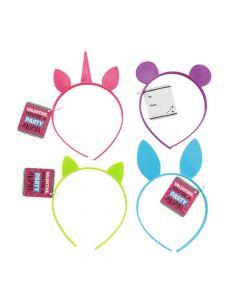 Valentine Animal Headbands with Card