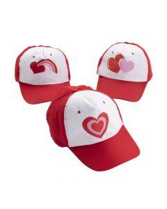 Valentine Baseball Cap Assortment