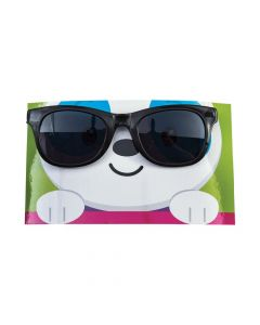 Valentine Dancing Animal Sunglasses with Card