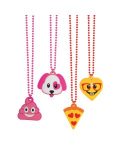 Valentine Emoji Necklaces