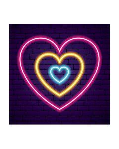 Valentine Glow Backdrop