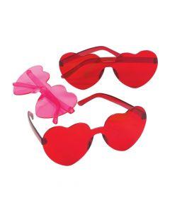 Valentine Heart Glasses