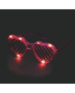Valentine Light-Up Glasses