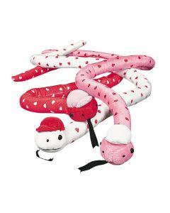 Valentine Stuffed Snakes