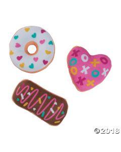 Valentine?s Day Plush Donuts