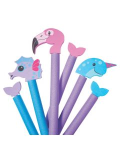 Water Creature Pool Noodle Attachments