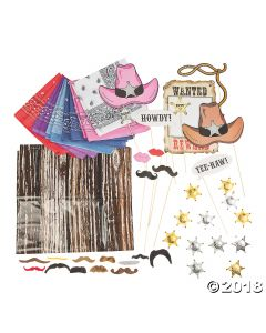 Western Photo Booth Kit