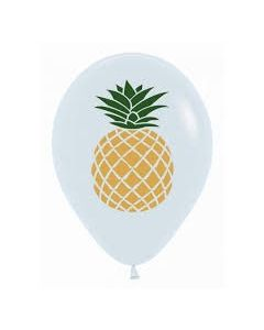 White Pineapple Balloons