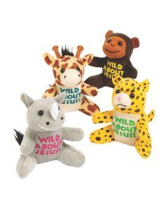 Wild About Jesus Safari Stuffed Animals