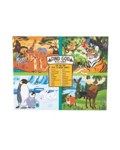 Wild Encounters VBS Image Hunt Sheets