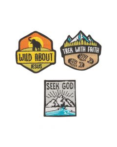 Wild Encounters VBS Iron-On Patches