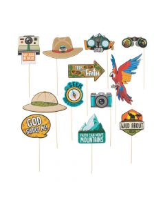 Wild Encounters VBS Photo Stick Props