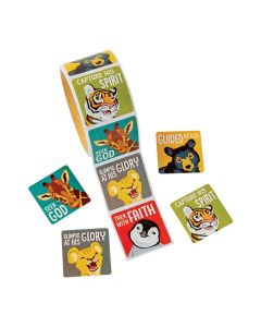 Wild Encounters VBS Stickers