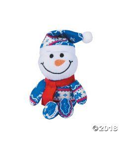 Winter Plush Snowmen